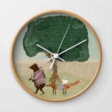 summers adventure Wall Clock