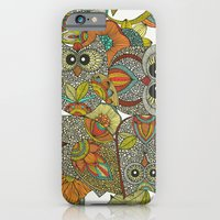 iPhone & iPod Case featuring 4 Owls by Valentina Harper