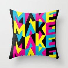MYCK Throw Pillow