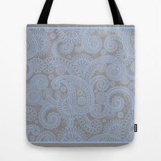 Paisley Mist Tote Bag
