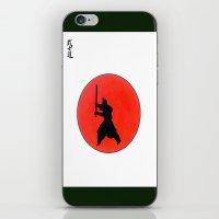 Japanese Bushido Way Of The Warrior iPhone & iPod Skin