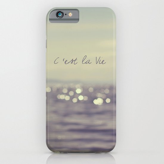 C'est la Vie iPhone & iPod Case