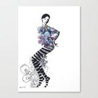 wycinanki Canvas Print