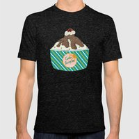 ICE CREAM Mens Fitted Tee Tri-Black SMALL