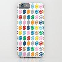 Colourful Money Repeat iPhone 6 Slim Case