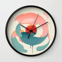 Under the Influence Wall Clock