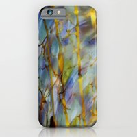 iPhone & iPod Case featuring Abstract Blue by KASSABLANKA