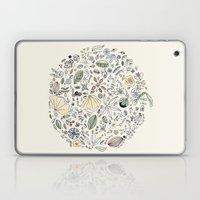 Circulo de flores Laptop & iPad Skin