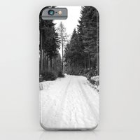 iPhone & iPod Case featuring winter landscape by pASob