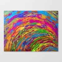 Follow The Rainbow Canvas Print
