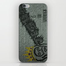 Sovereign King iPhone & iPod Skin