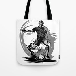 Tote Bag - Playing Football - UniqueD