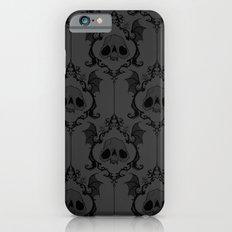 Halloween Damask Grey iPhone 6 Slim Case