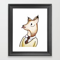 Master Fox Framed Art Print