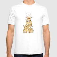 Shout It Out! Mens Fitted Tee White SMALL