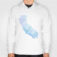 Typographic California -… Hoody
