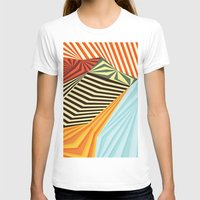 stripes T-shirts featuring Yaipei by Anai Greog