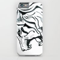 iPhone & iPod Case featuring Let Him Roar by Violet Tobacco