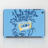 Sad song iPad Case