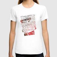 lyrics T-shirts featuring Big Bang Theory Lyrics by Nxolab