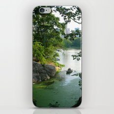 New York Central Park Lake iPhone & iPod Skin