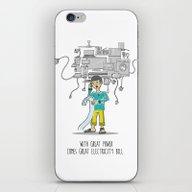 Electricity Bill iPhone & iPod Skin