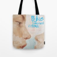 Blue is the warmest colour - chapter one - hand-painted movie poster -  Tote Bag