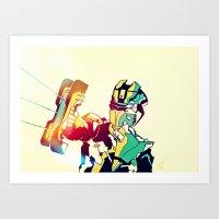 Dead Space Color Art Print