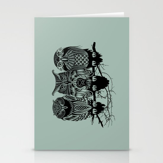 Owls of the Nile Stationery Card