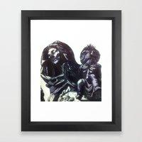 The  Virgin Zombie Framed Art Print