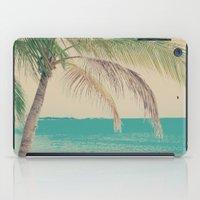 Coco Palm in the Beach  iPad Case