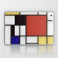 Piet Mondrian Laptop & iPad Skin