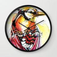 Crazy Jay Wall Clock