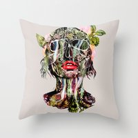 The Death Within 2  Throw Pillow