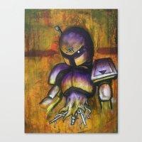 Irregular Vile Canvas Print