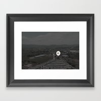 Not Found Framed Art Print