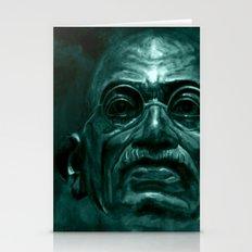 Mahatma Gandhi - quote Stationery Cards