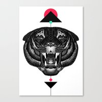 Roar My *--Tiger--* Canvas Print