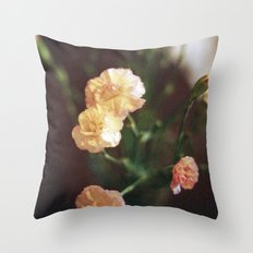 These Flowers Throw Pillow