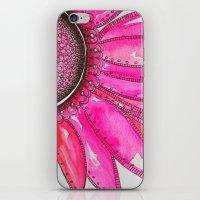 Gerber Daisy Watercolor Print iPhone & iPod Skin