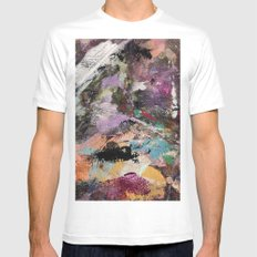 Painted Lady SMALL Mens Fitted Tee White