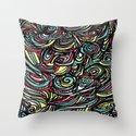 saps pattern - by Tori  Throw Pillow