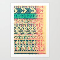 Pattern Of The God Art Print