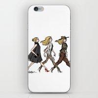 Fashion Girls iPhone & iPod Skin