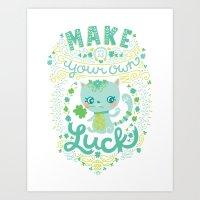 Lucky 13 Art Print