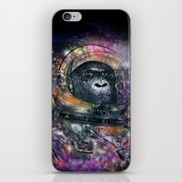 Deep Space Monkey iPhone & iPod Skin