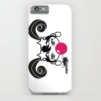 iPhone & iPod Case featuring GIUPPY-Black & White by Nymboo