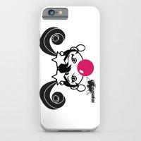 GIUPPY-Black & White iPhone 6 Slim Case