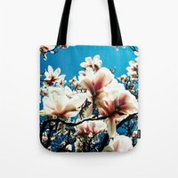 Magnolia details Tote Bag