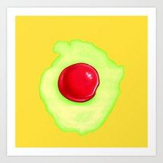 Egg. Art Print